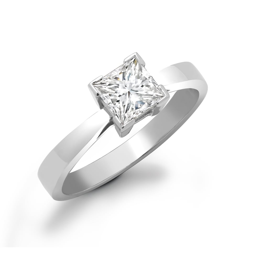 martin diamond gear princess jewellers product ring solitaire platinum