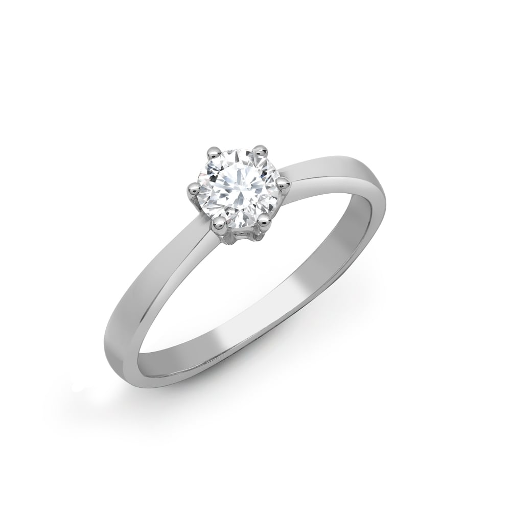 ring engagement from berry rings set platinum s solitaire certified berrys diamond gia image