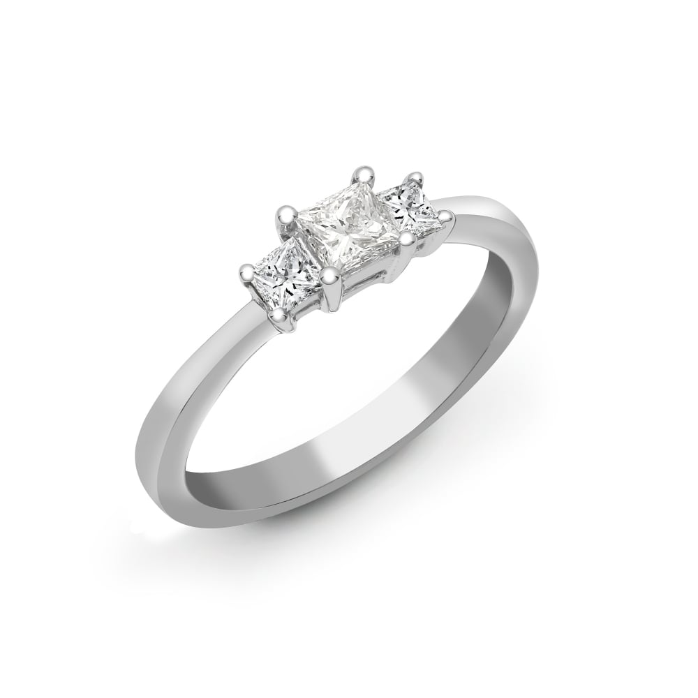 diamondrings ringbling ring engagement princess pin cut diamond rings solitaire