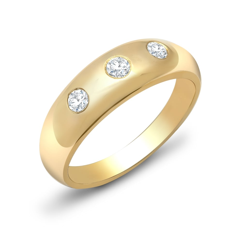 channel yellow h g ting setting set princess ring vs diamond cut in invisible gold engagement
