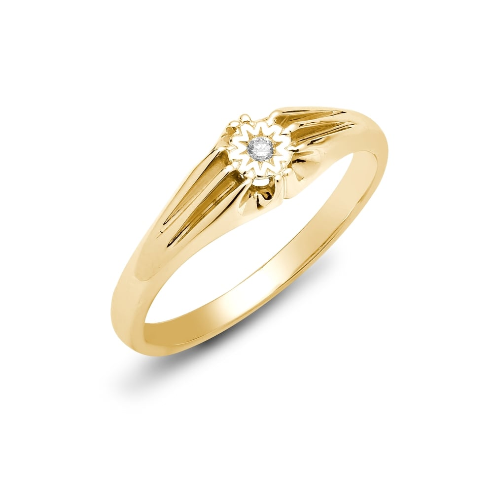 rings image stone jewellers ring white wedding engagement finnies the gold diamond single