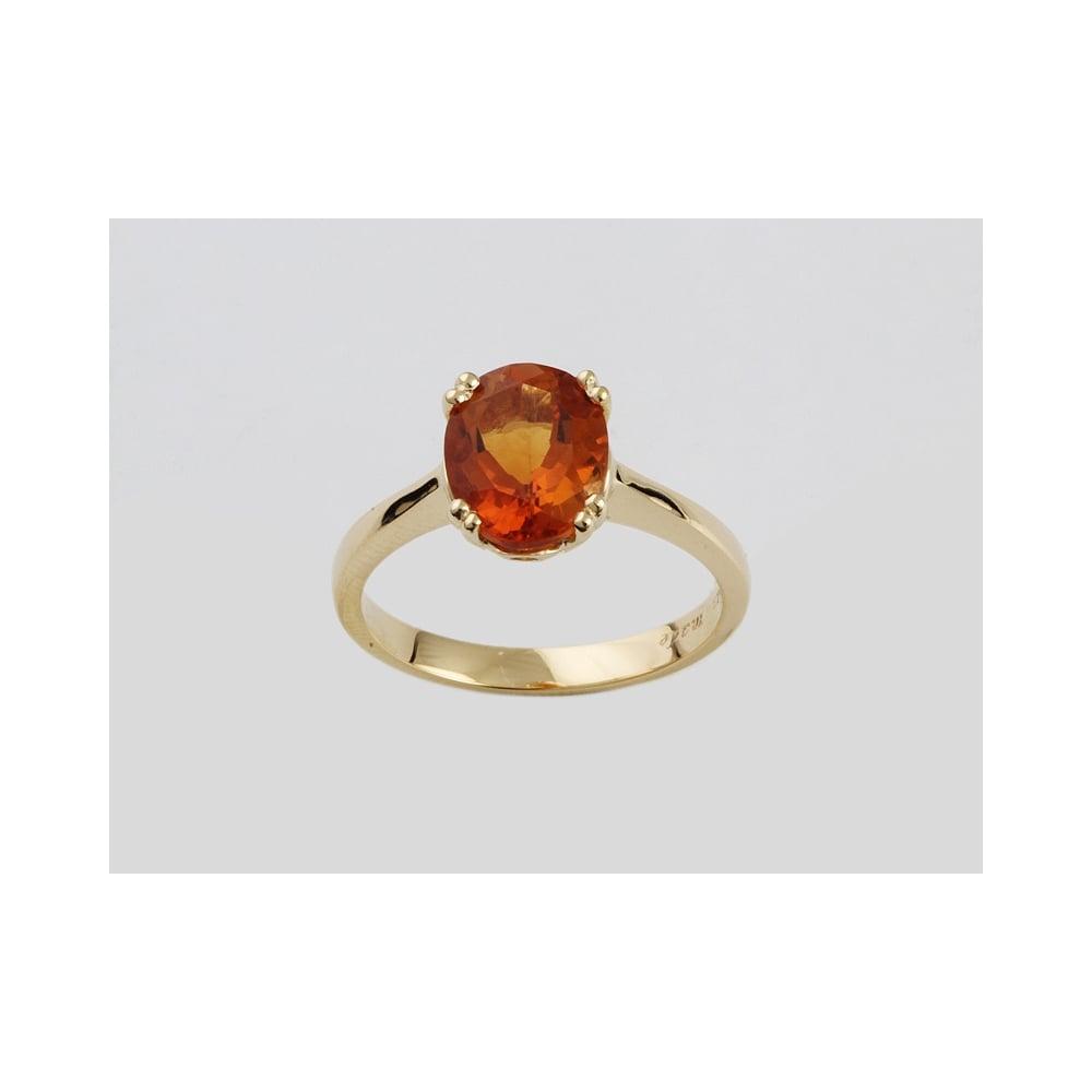 Albion Handmade 18ct Yellow Gold Citrine Ring 2 59ct
