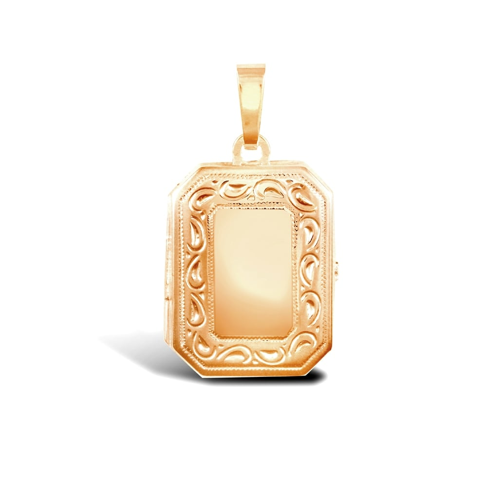 dp s men saint gold necklace filled amazon stainless christopher medal rectangular com pendant plated with steel chain