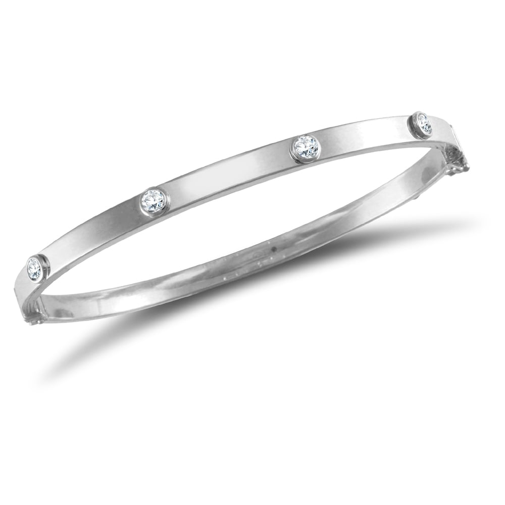 cartier edge fashion high silver bracelet b sterling o square products polish sin in bangle bangles
