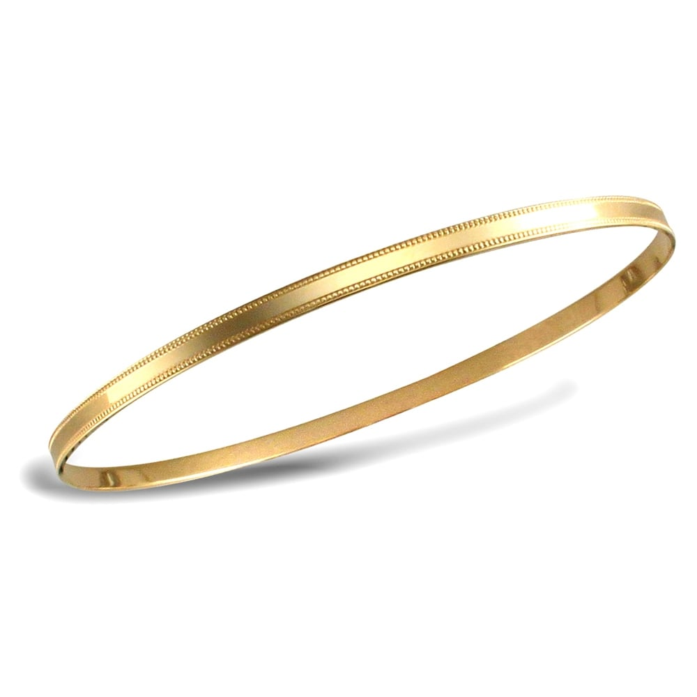 p zirconia bangles gold tw ct plated with sterling cubic bangle bracelet in yellow silver