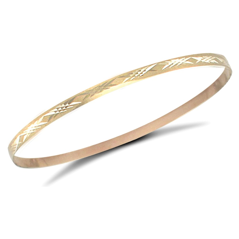 laser ladies mm plated gold detail buy bracelet bangles cut product tone diamond