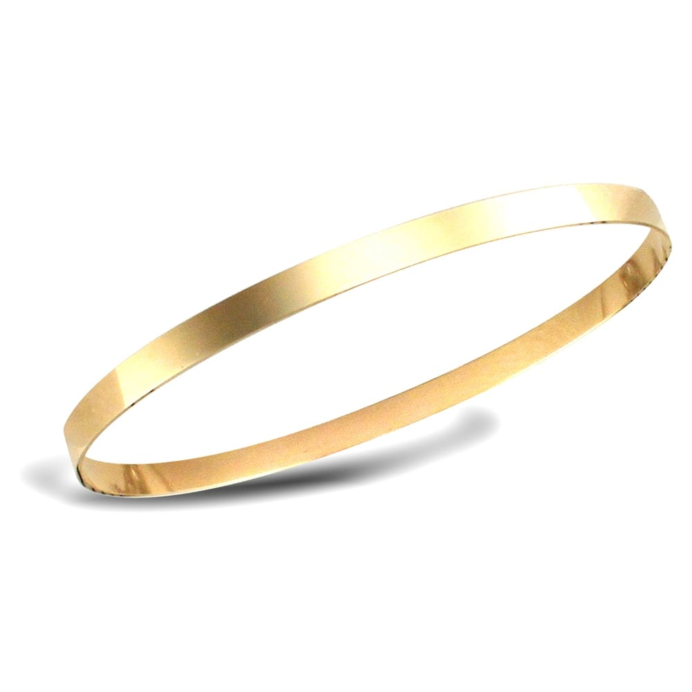 solid bracelet bangle gold htm p