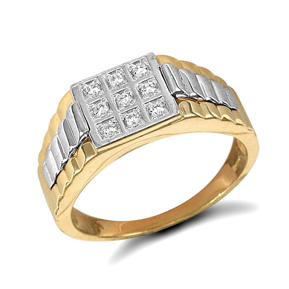 round cut gold diamond rings eternity j ring carat i wedding engagement enhanced white square